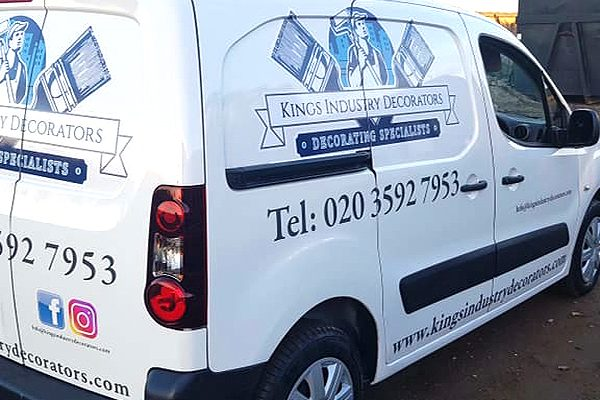Decorating specialists, London