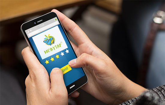 Tap to review services, London